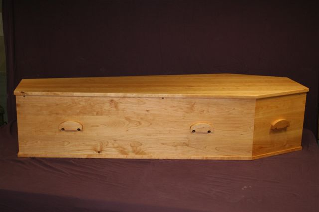 Cherry Traditional Coffin