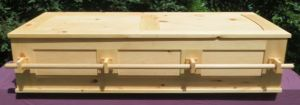 Frame and Panel Rectangular Coffin