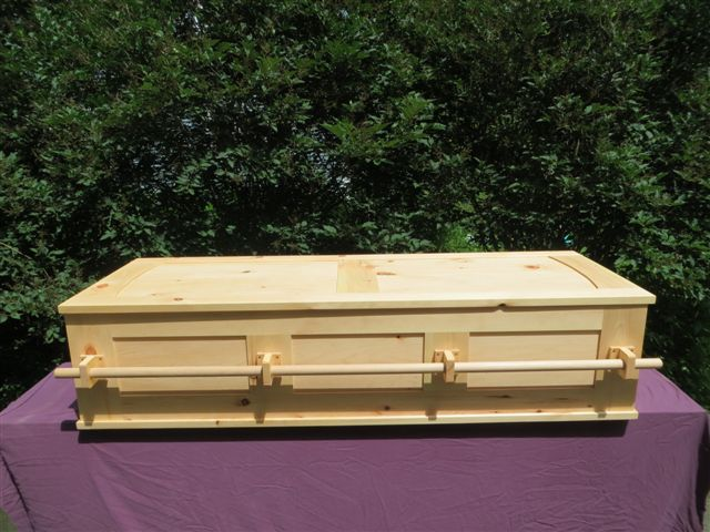 Frame and Panel Coffin