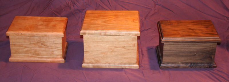 Hardwood Cremation Urns